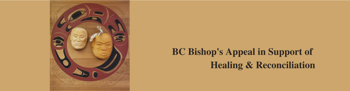 BC Bishops Appeal in Support of Healing & Reconciliation