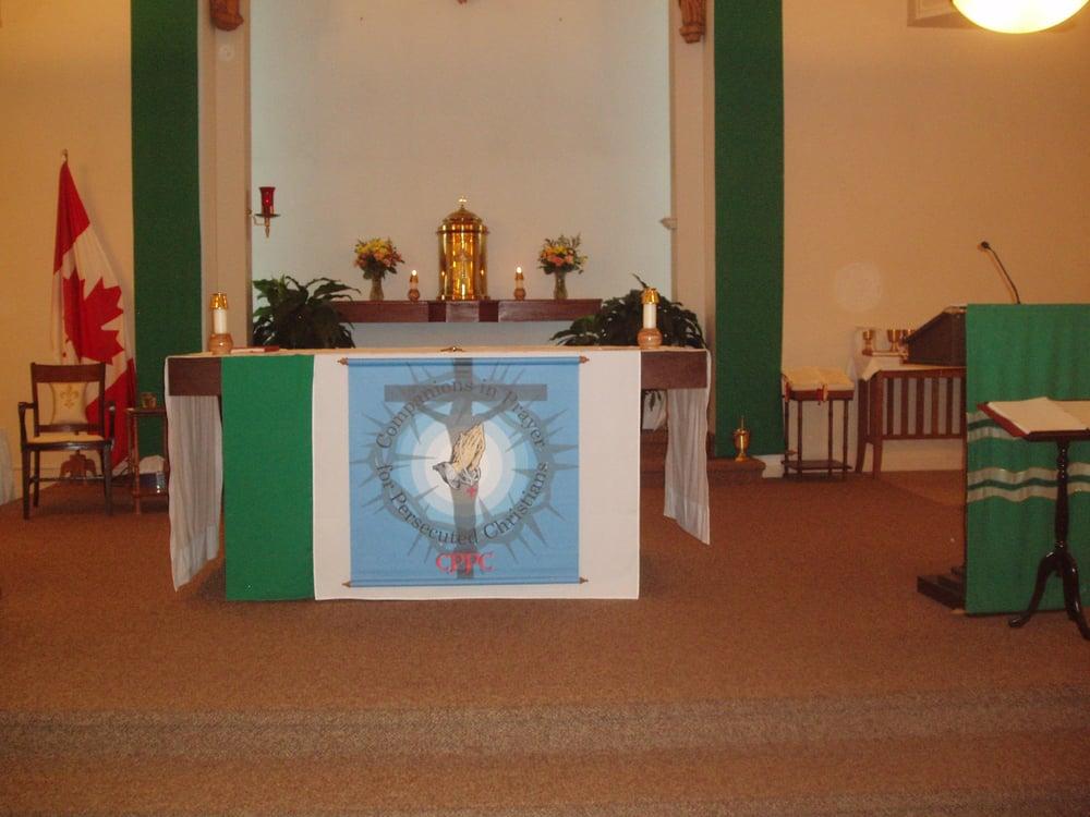 CPPC banner at St. Edward's Parish