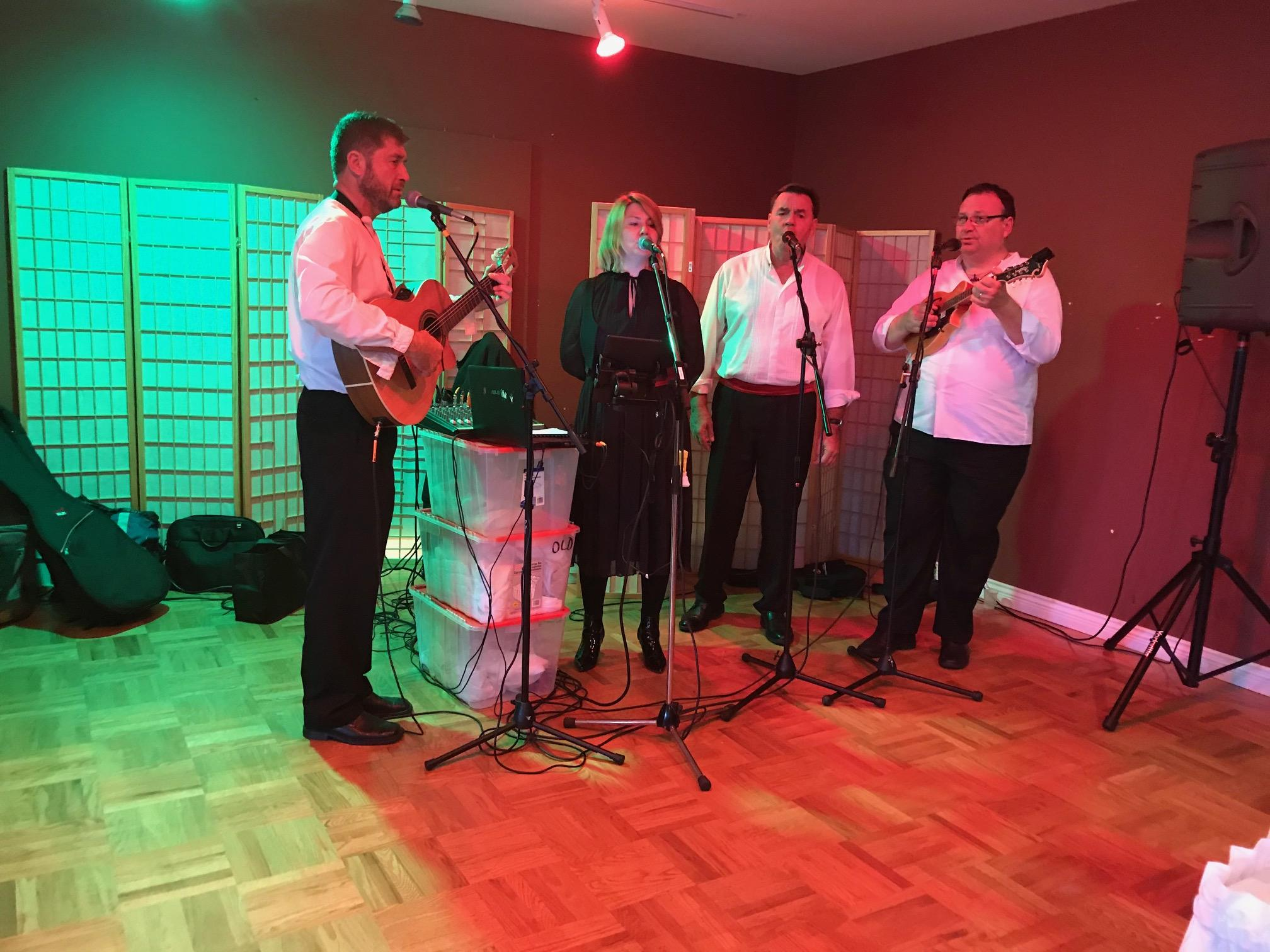Klapa More Split performs at fundraiser for St. Leopold Mandić parish