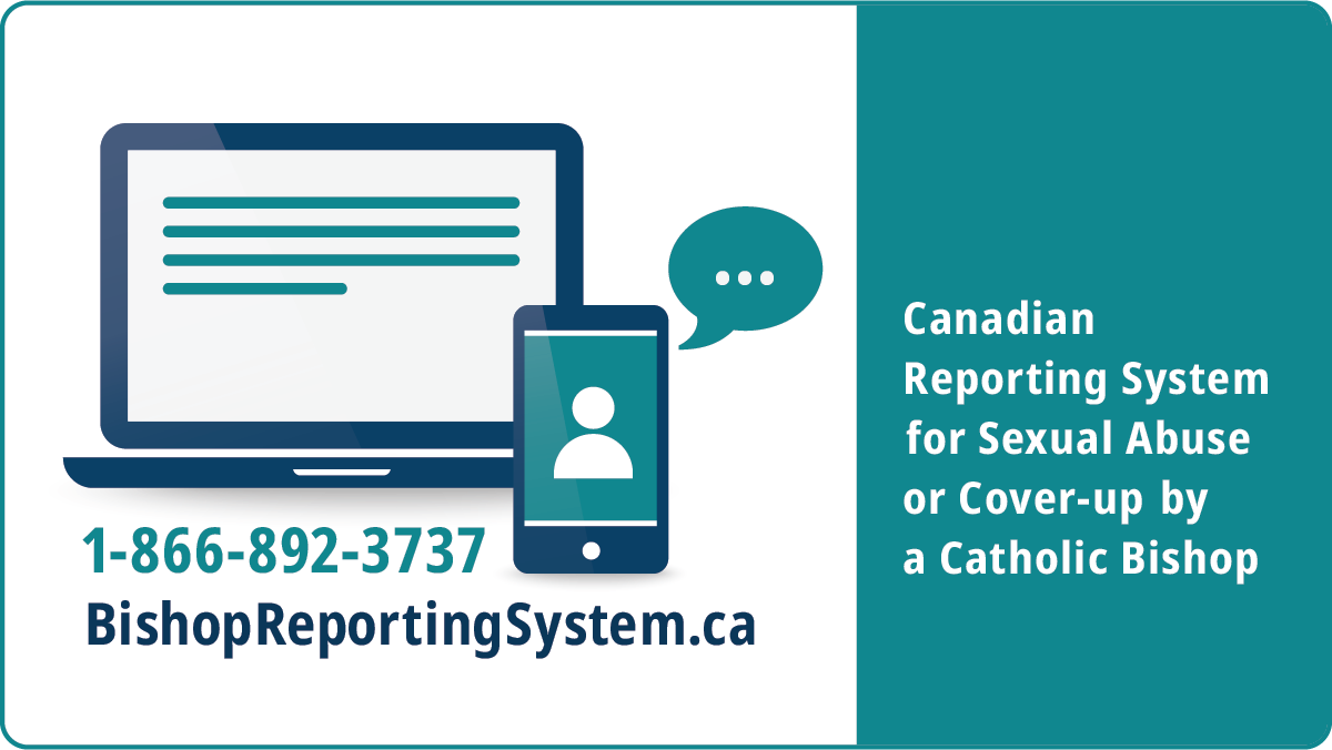 Canadian Reporting System for Sexual Abuse or Cover-Up by a Catholic Bishop