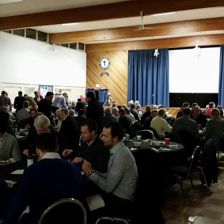 First Diocesan 'Men's Supper' held